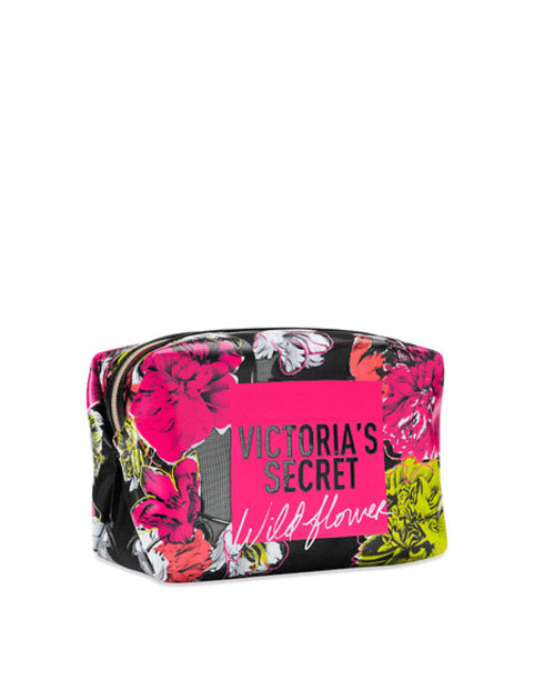 Косметичка средняя Victoria's Secret Bombshell Wild Flower Beauty Bag