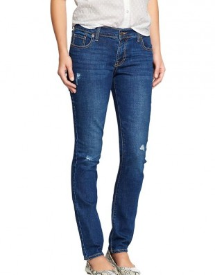 Джинсы Old Navy The Sweetheart Distressed Skinny Jeans