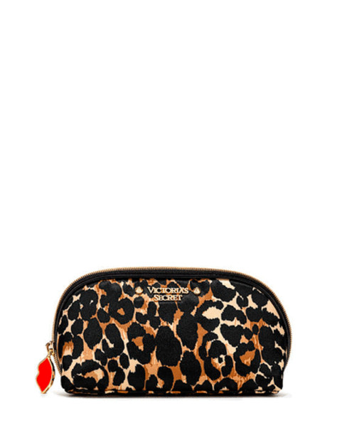 Косметичка маленькая Victoria's secret Exotic Leopard Glam Bag