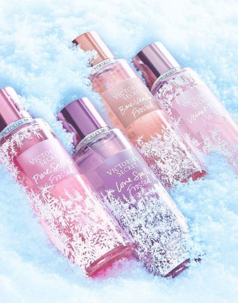 Спрей - мист Victoria's secret Love Spell / Pure Seduction Frosted Fragrance Mist NEW