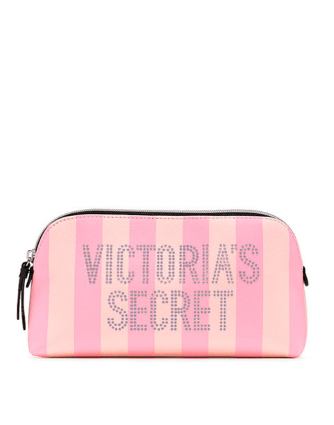Косметичка Victoria's secret Signature Stripe Beauty Bag NEW