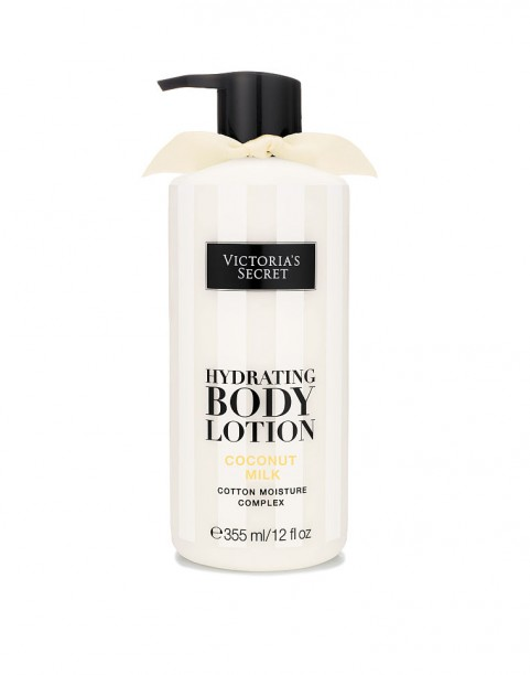 Крем для тела с дозатором Victoria's Secret Body Care Coconut Milk Hydrating Body Lotion
