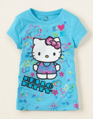 Футболка Hello Kitty Childrens Place, 14 л