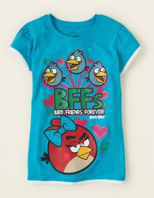 Футболка Angry birds Childrens Place